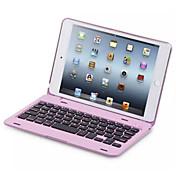 Para Carcasa Funda con Soporte con Teclado Flip Cuerpo Entero Funda Color sólido Dura Policarbonato para iPad Mini 4