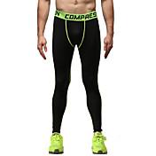 Vansydical® Hombre Pantalones ajustados de running Camiseta interior Secado rápido Transpirable Materiales Ligeros Reductor del Sudor