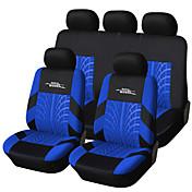 bordado de la marca cubierta de asiento de coche autoyouth conjunto universal cabido la mayoría de los coches cubre con neumáticos de
