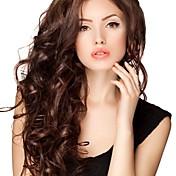 Mujer Pelucas de Cabello Natural Remy Encaje Completo Encaje Frontal Integral sin Pegamento Frontal sin Pegamento 130% 150% 180% Densidad