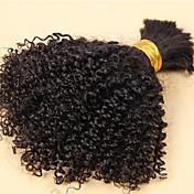 Tejidos Humanos Cabello Cabello Brasileño Rizado rizado 6 Meses 3 Piezas los tejidos de pelo