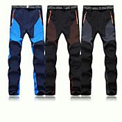 Deportes Ropa de Esquí Pantalones/Sobrepantalón Hombres Moda de Invierno Poliéster / Vellón Clásico / Moda Ropa de InviernoImpermeable /