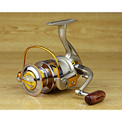 Carretes para pesca spinning 5.5:1 10 Rodamientos de bolas Intercambiable Pesca al spinning-EF4000 / EF5000 / EF6000 / EF7000