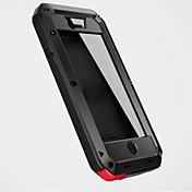 iphone 7 7プラス6S 6プラス自体5Sのためのアルミニウム金属防水耐衝撃カバーケース5cと5