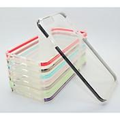 dvojité barevné TPC + PC Back pouzdro pro iphone6&6s (Smíšený Barva)