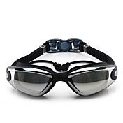 svømmebriller Anti-Tåge Justerbar Størrelse Anti-UV Polariseret Linse Vandtæt Silika Gele PC Orange Lyserød Sort Blå LyseblåOrange