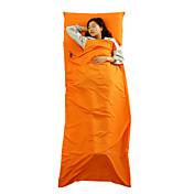 Saco de dormir Liner Bolsa de dormir Saco Rectangular Sencilla 20-25 PoliésterX75 Pesca Senderismo Camping Viaje Al Aire Libre Interior