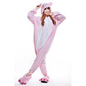 Kigurumi Pijamas nueva Cosplay® Lechón/Cerdo Leotardo/Pijama Mono Festival/Celebración Ropa de Noche de los Animales Halloween Rosado