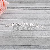 Ženy Křišťál Přílba-Svatba Zvláštní příležitost Neformální Kancelář a kariéra Outdoor Hřebeny na vlasy Jeden díl