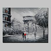 Ručně malované Abstraktní / Slavné / Krajina / Volný časModerní Jeden panel Plátno Hang-malované olejomalba For Home dekorace