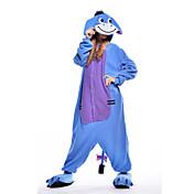 Kigurumi Pijamas nueva Cosplay® Burro Leotardo/Pijama Mono Festival/Celebración Ropa de Noche de los Animales Halloween Azul Piscina