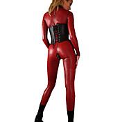 Disfraces de Cosplay Disfraces de Temas de Películas y Televisión / Disfraces carrera Festival/Celebración Traje de Halloween Rojo / Negro