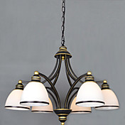 Lámparas Araña ,  Cosecha Pintura Característica for Los diseñadores Metal Sala de estar Dormitorio Comedor Habitación de estudio/Oficina