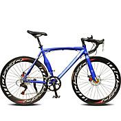 ロードバイク サイクリング 14スピード 26 inch/700CC SHIMANO TX30 ダブルディスクブレーキ 普通 モノコック 普通 スチール アルミニウム合金