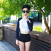 Dámské Voděodolný Odolný vůči UV záření Prodyšné Lehké materiály LYCRA® Diving Suit Sady oblečení-Plavání Potápění SurfingJaro Léto Zima