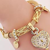 Dámské Módní hodinky Křemenný Slitina Kapela Stříbro Zlatá Stříbrná Zlatá