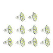 2w gu4 (mr11) led reflektor mr11 12 smd 5730 200-250 lm teplá / studená bílá dc12v 10 ks