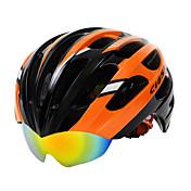 Hora / Cesta - Unisex - Cyklistika / Horská cyklistika / Silniční cyklistika - Helma ( Žlutá / Zelená / Červená / Modrá / Oranžová ,