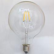 1 stk e26 / e27 7w 8 cob 700 lm varm hvid g125 edison vintage led glødelamper ac 220-240 v