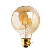 1 ks GMY E26/E27 2W 2 COB ≥180 lm Teplá bílá G80 edison Retro LED žárovky s vláknem AC 220-240 V