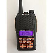 宝豊 ハンドヘルド / デジタル UV-6 PLUS FMラジオ / 音声プロンプト / デュアルバンド / デュアルディスプレイ / デュアルスタンバイ / LCDディスプレイ / CTCSS/CDCSS 1.5KM-3KM