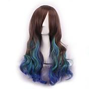 pelucas sinteticas stín paruka pelucas pelo přírodní syntetické paruky tepelně odolná Perruque cosplay paruky vlnité peruca