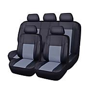 11pcs de la PU de cuero auto coche-cubre conjunto completo sintético cubiertas del asiento