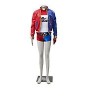Disfraces de Cosplay Súper Héroes Cosplay de Películas Rojo / Azul Retazos Chaqueta / Top / Más Accesorios / Pantalones cortosHalloween /