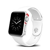 dispositivos portátiles lemfo lf07 bluetooth reloj inteligente arco 2.5d hd tamiz de soporte de tarjetas sim SmartWatch para ios android