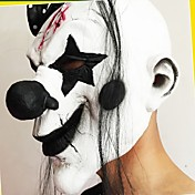 divertido miedo máscara de payaso de fiesta de halloween nueva máscara de látex año payaso disfraces cosplay máscaras faciales completas