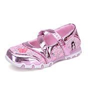 Chica-Tacón Plano-Light Up Zapatos-Bailarinas-Informal-Tul-Fucsia Rosa
