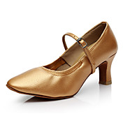 Zapatos de baile-Personalizables-Mujer-Latino-Tacón Personalizado-Cuero-