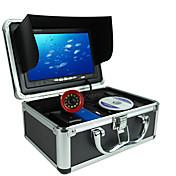 Fatómetro Impermeable LED Pesca de Mar Pesca en hielo Pesca en Bote / Pesca al curricán Portable LCD Ninguno Sin Cable 18650 Plástico duro