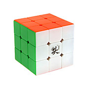 Dayan® Let Glidende Speedcube 3*3*3 Magiske terninger Regnbue Zhanchi Anti-pop Justerbar fjeder ABS