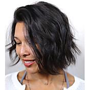 brazilský krátký bob virgin lidský vlas paruky voda vlna paruky pro černé ženy plné krajky s dítětem vlasy paruka