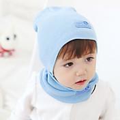 女性 / 男の子用 スカーフ、帽子&手袋セット,ニット すべての季節 ブルー / グリーン / ピンク / レッド / イエロー