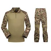 Hombre Impermeable Secado rápido Listo para vestir Sets de Prendas para Camping y senderismo Caza Primavera Invierno Otoño S M L XL XXL