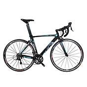 コンフォートバイク サイクリング 18スピード 27インチ シマノ Vブレーキ ノーダンパー アルミ合金フレーム 普通