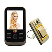 Sin Cable Fotografiado Grabación 3.5 Teleducha 240*320 One to One de vídeo portero automático