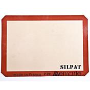 シリコンベーキングマットハーフサイズ42 * 29.5センチメートルシルパット非粘着シリコーンベーキングシート