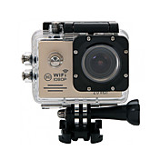 Action Camera / Sports Camera 12MP 640 x 480 2048 x 1536 2592 x 1944 3264 x 2448 1920 x 1080 4032 x 3024 X 2736 3648 1280x960WIFI 防水 便利