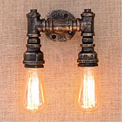 交流220V-240Vの40ワットE27 bg820-2懐かし単純な水パイプ装飾的な小さな壁ランプウォールライト