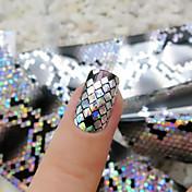 1 Neglekunst Klistermærke 3D Negle Stickere Makeup Kosmetik Neglekunst Design