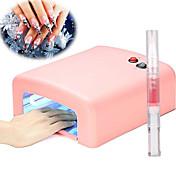 36W Secadores de uñas lámpara ultravioleta Lámpara led Esmalte de Uñas Gel UV