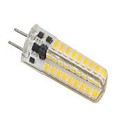 5W GY6.35 Luces LED de Doble Pin T 72 SMD 2835 320-350 lm Blanco Cálido Regulable V