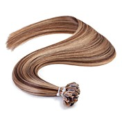 neitsi 16 ''ストレートオンブル前接合Uの爪先端融合人間の髪の毛の拡張機能の1グラム/秒50グラム/ロット