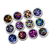 1set 12bottles Nail Art Dekorace drahokamu Pearls make-up Kosmetické Nail Art design
