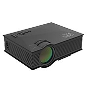 ZHG-UC46BG LCD WVGA (800x480) プロジェクター,LED 1200lm ミニ HD ワイヤレス プロジェクター