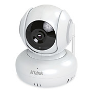 Ithink® pan tilt cmos wifi inalámbrico hd ptz cámara de seguridad detección de movimiento visión nocturna dos maneras de hablar