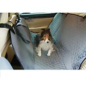 cubierta de asiento de coche del perro a prueba de agua cubierta de asiento para mascotas